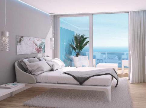 Higueron West - voorbeeld slaapkamer